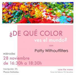 «¿De qué color ves el mundo?» con Patty Withoutfilters