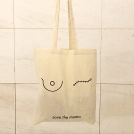 Save the mama tote bag