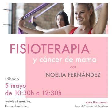 """""""Fisioterapia y cáncer de mama"""" con Noelia Fernández"""